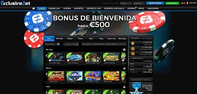 exclusivebet casinosonlineespana