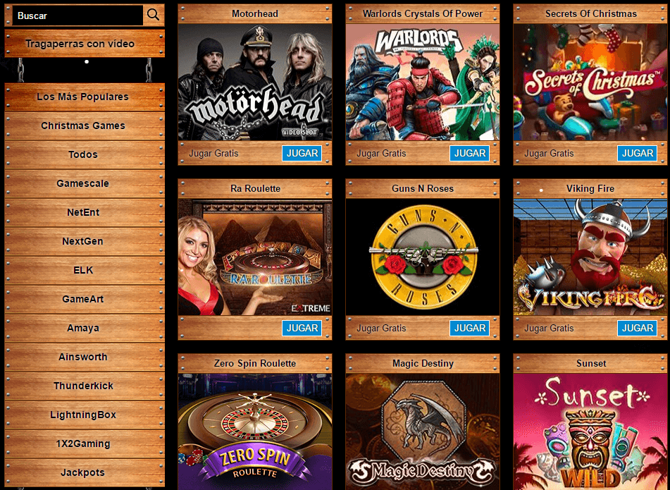 company casino juegos