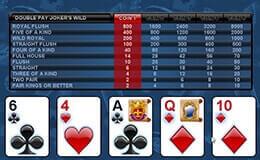Videopoker Casinos Online España