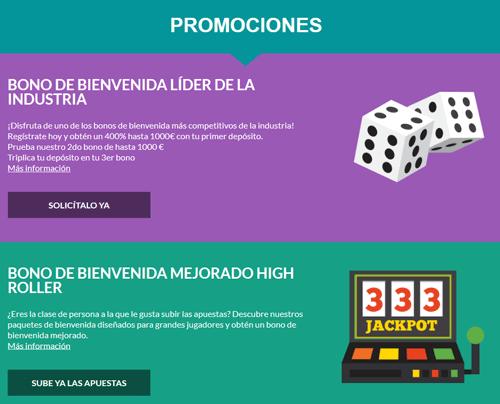 Promociones Casino Superlines