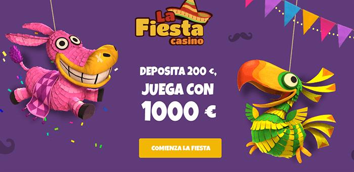 La Fiesta casino bono