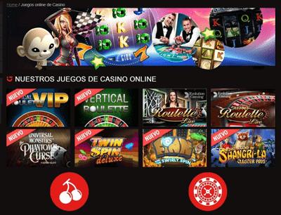 circus casino juegos