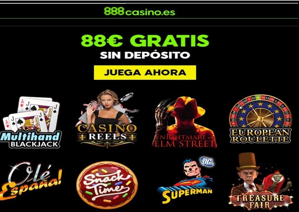 88 euros por registro Casino 888