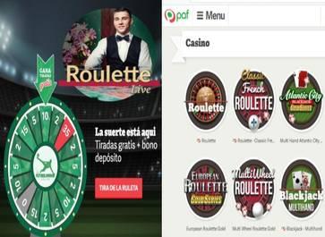 10 euros y 35 tiradas gratis por primer depósito en Casino Paf
