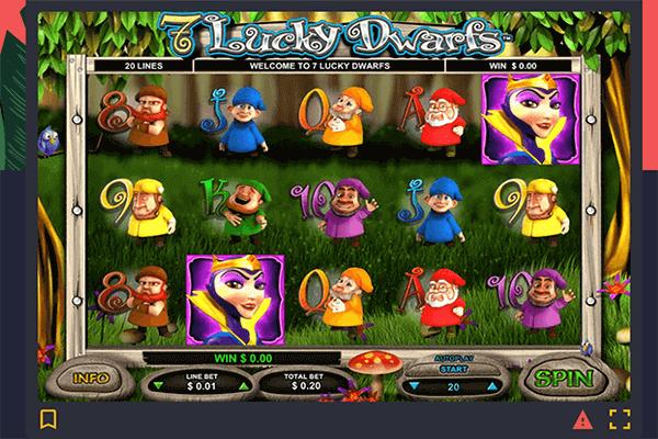 tragaperras Lucky Dwarfs