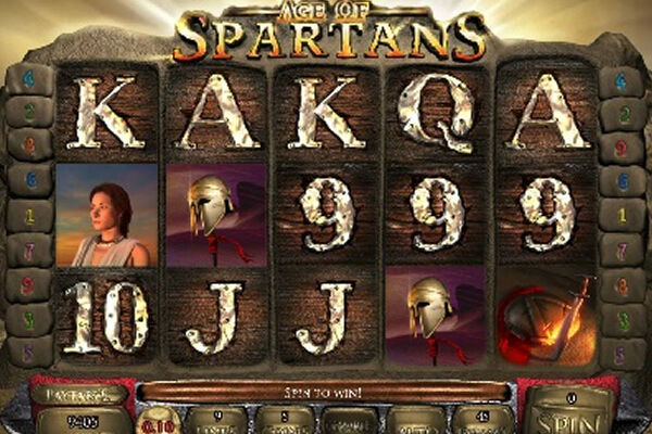 Age of Spartans Spin 16 tragamonedas