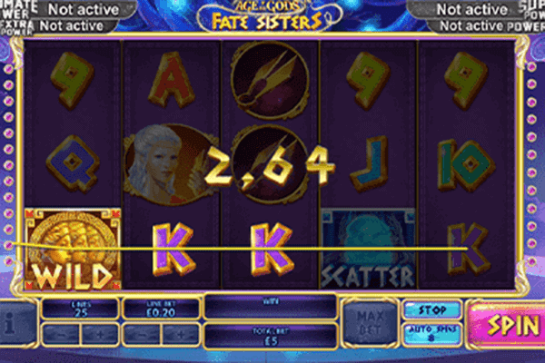 slot Age of the Gods Fate Sisters