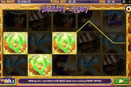 Aladdin's Legacy tragamonedas