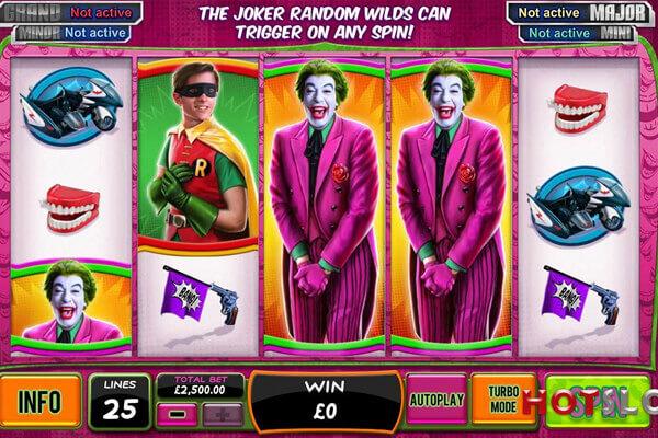 tragaperras Batman and the Joker Jewels