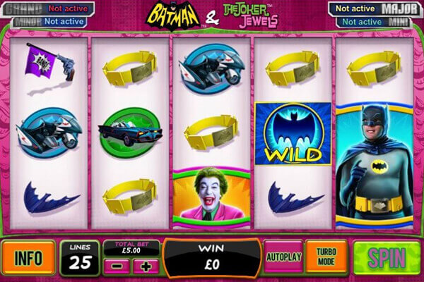 slot Batman and the Joker Jewels