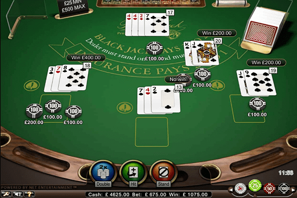 Blackjack de Amaya gaming