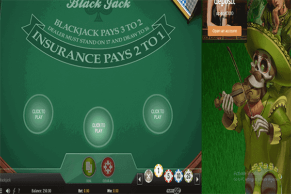 Blackjack en vivo de Actual