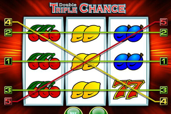 tragaperras Double Triple Chance