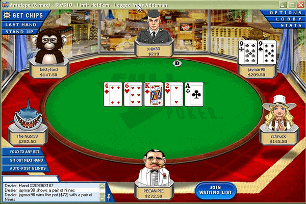 Full Tilt Poker de Amaya gaming