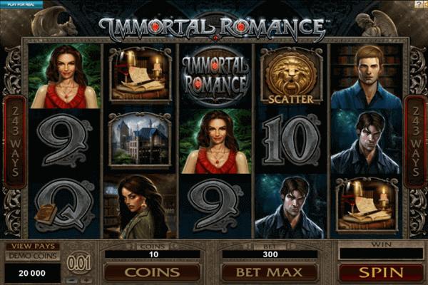 tragaperras Immortal Romance
