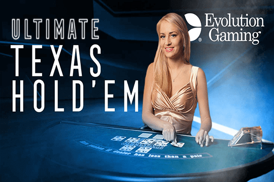 Live Ultimate Texas Hold'em Evolution Gaming