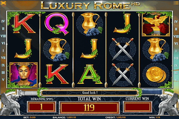 slot Luxury Rome