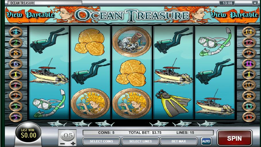 slot Ocean's Treasure