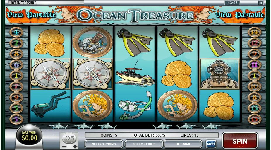 tragaperras Ocean's Treasure