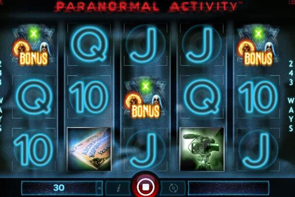 tragaperras Paranormal Activity