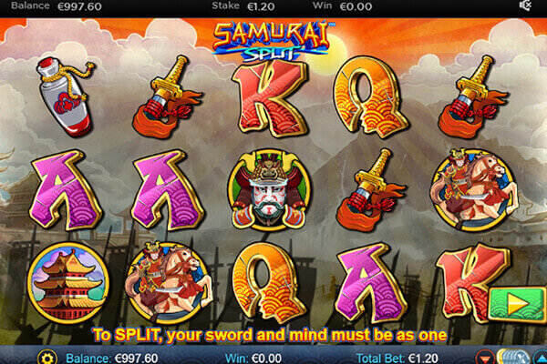 slot Samurai Split