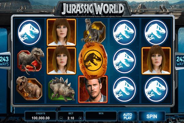 tragaperras Jurassic Park