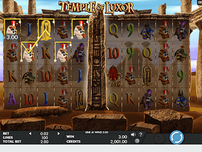 slot Luxor Temple