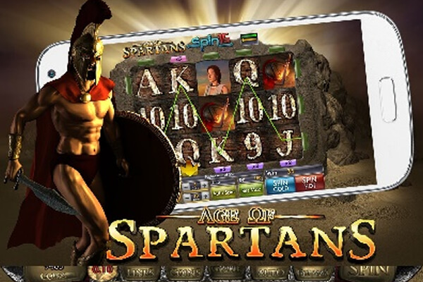 Tragaperras Age of Spartans Spin 16