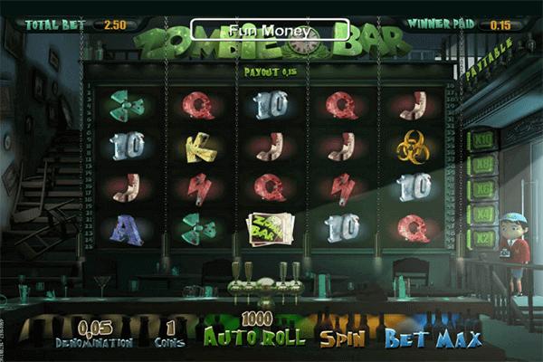 tragaperras Zombie Bar