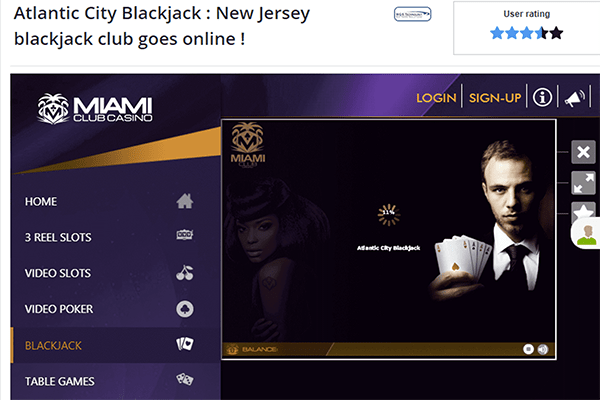 Atlantic City Blackjack amaya