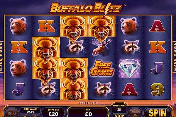 tragaperras Buffalo Blitz