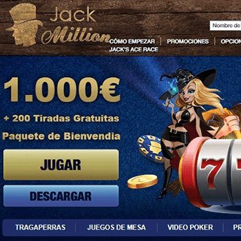 bono casino jack million online en colombia