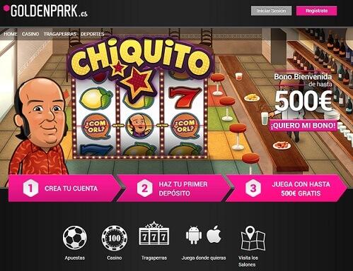 tragaperras chiquito en casino online español