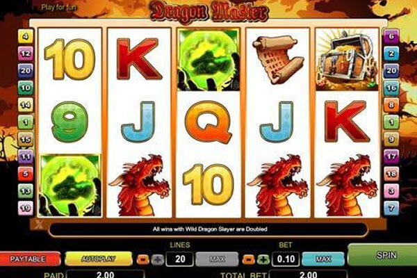 slot Dragon Master
