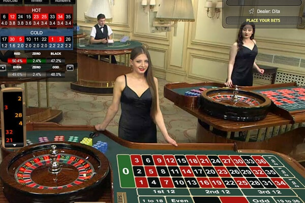 Live European Roulette visionary