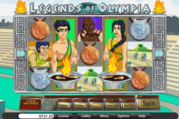 slot Legends of Olympia