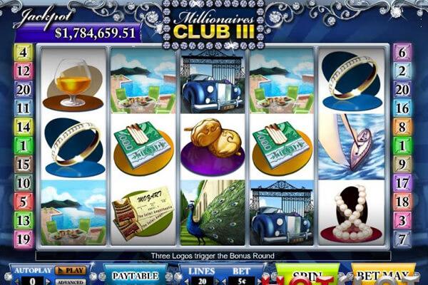 slot Millionaire's Club III