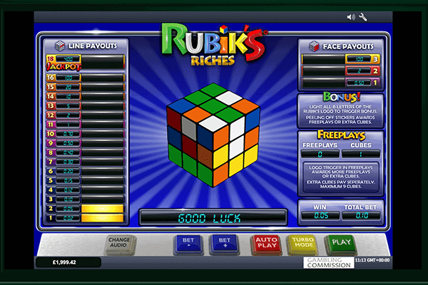 slot Rubik´s Riches