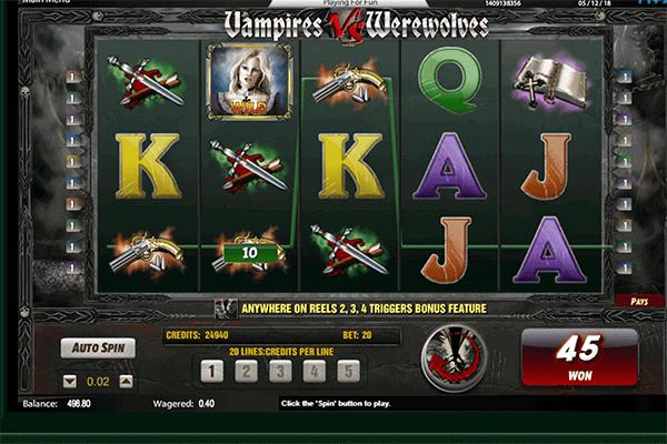 slot Vampires vs Werewolves