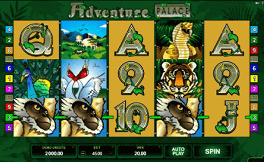 Adventure Palace tragamonedas