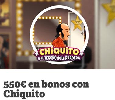 Gana 550€ en Paf jugando a Chiquito