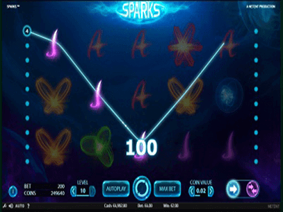 Sparks Tragamonedas