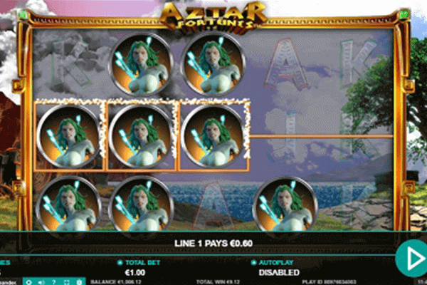 tragaperras Aztar Fortunes