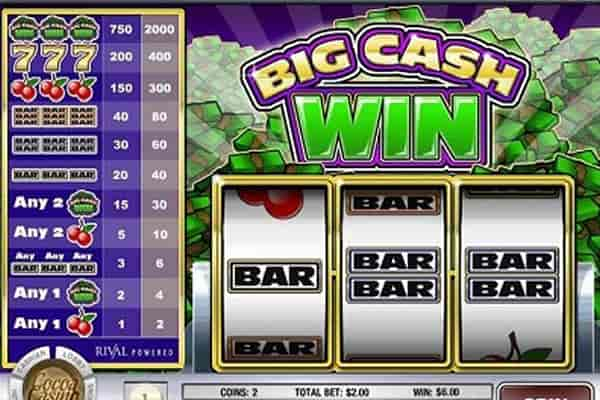 Big Cash Win tragamonedas