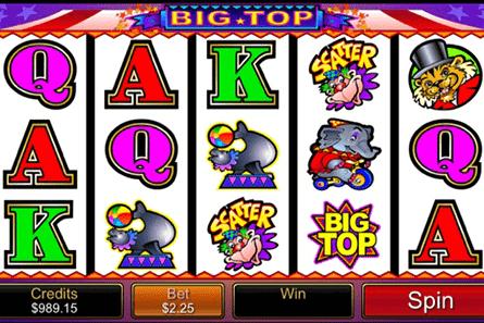 Big Top tragamonedas