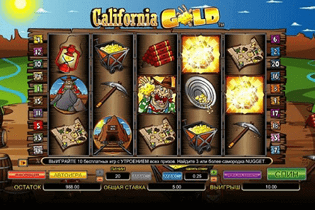 California Gold tragamonedas