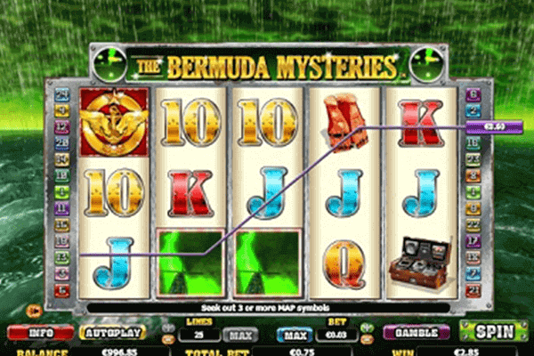 The Bermuda Mysteries tragamonedas