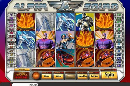 tragaperras Alpha Squad
