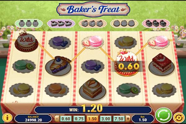 tragaperras Baker's Treat
