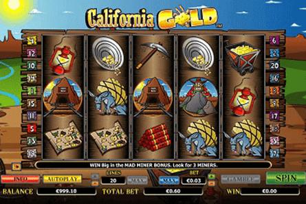 tragaperras California Gold